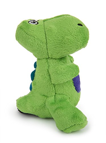 goDog Just For Me TRex With Chew Guard, Green