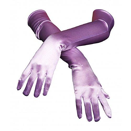 Elegant Opera Length Stretch Evening Gloves (One Size; - Length Gloves Evening