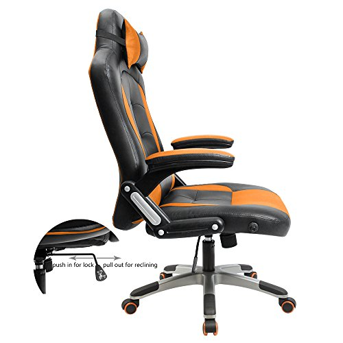 Furmax Gaming Chair Executive Racing Style Bucket Seat Pu
