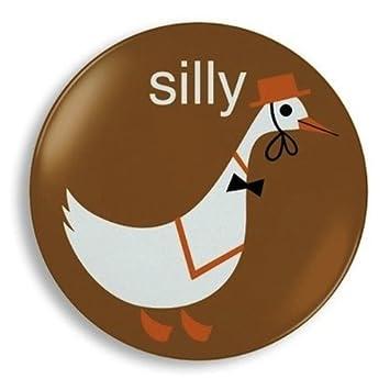 Amazon.com : Silly Goose Melamine Plate by Jane Jenni : Baby ...