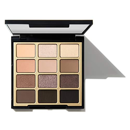 Milani Soft & Sultry Eyeshadow Palette (0.48 Ounce) 12 Cruelty-Free Smoky Matte & Metallic Eyeshadow Colors for Long-Lasting Wear