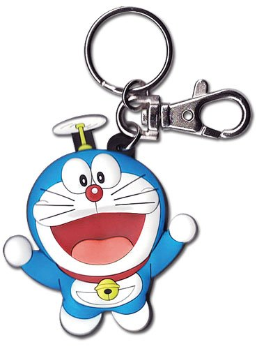 Great Eastern Entertainment Doraemon Flying PVC Keychain