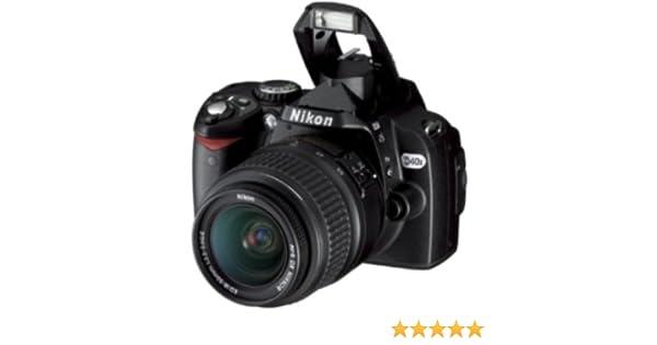 Nikon D40x - Cámara Réflex Digital 10.2 MP (Objetivo VR 55-200mm ...