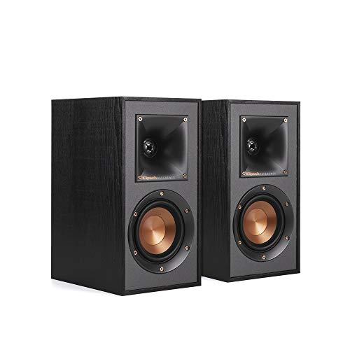 Klipsch R-41M krachtige gedetailleerde boekenplank Home Speaker Set van 2 zwart