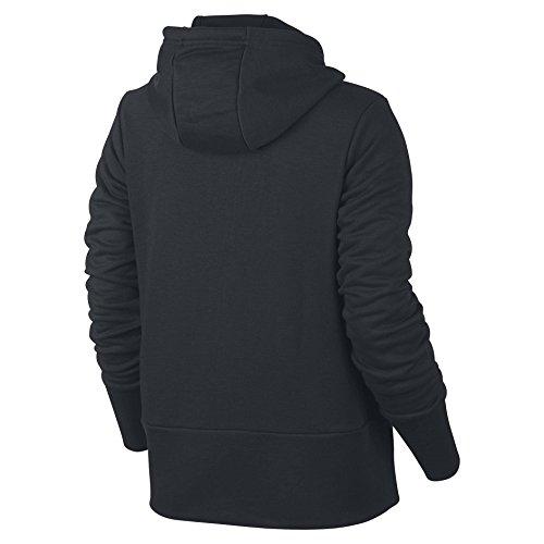 Nike NK Dry Felpa con cappuccio Black/White