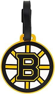 Boston Bruins Team NHL National Hockey League Luggage Tag Bag (PVC Luggage Tag)