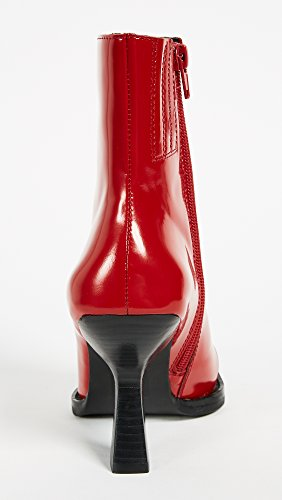 Toe Square Boots Jeffrey Box Hiatus Campbell Red Women's tqwc6IP