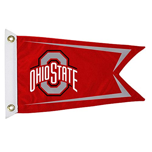 (NCAA Ohio State Buckeyes Boat/Golf Cart Flag)