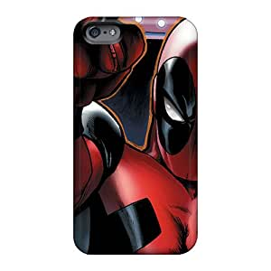 Anti-Scratch Cell-phone Hard Cover For Apple Iphone 6 Plus (XPl9764WpoV) Allow Personal Design Nice Deadpool I4 Pictures