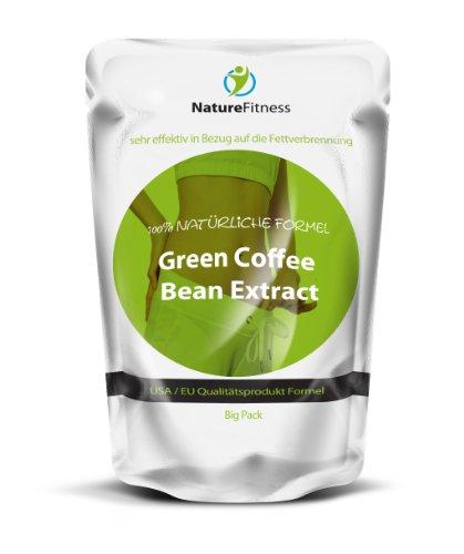 Green Coffee Bean Extract   250 Kapseln Bigpack   schnelle Gewichtsabnahme mit 100% Grüne Kaffeebohnen   Hammerpreis