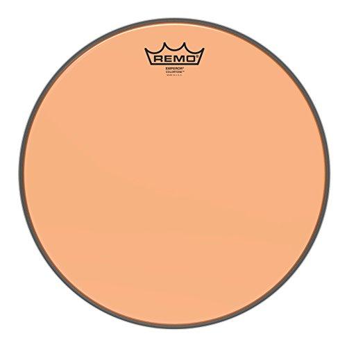 Remo BE-0313-CT-OG Emperor Colortone Orange Drumhead, 13