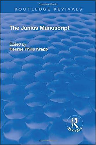 Descargar Libros En Ebook Revival: The Junius Manuscript (1931) Kindle Paperwhite Lee Epub