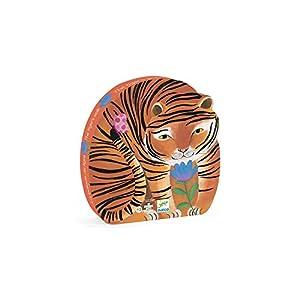 Djeco Puzzle Silhouette Tigre