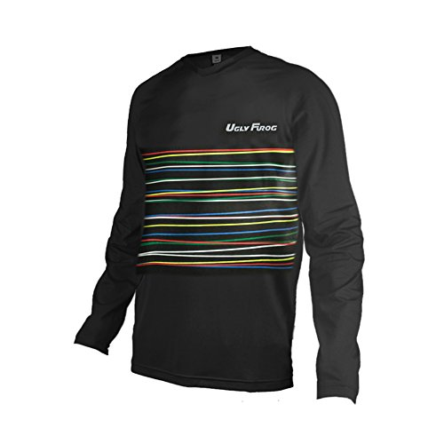 Uglyfrog Winter Thermal Fleece Long Sleeve Downhill Jersey DH/AM/XC/FR/MTB/BMX/Moto/Enduro/Offroad Cycling Bike Wear ()