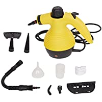 Lucky Tree Handheld Steam Cleaner,9 Attachments and Accessories Multi-Purpose Pressurized Cleaners for Stains Removal,Garment,Surface,Bathroom, Kitchen, Floor, Carpet and More