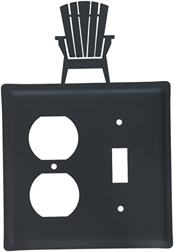 (8 Inch Adirondack Single Outlet and Switch Cover)