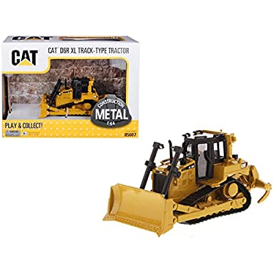 CAT Caterpillar D6R XL Track-Type Tractor Dozer 1/64 Diecast Model by Diecast Masters 85607: Toys & Games