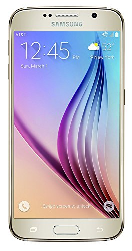 (Samsung Galaxy S6 SM-G920A 32GB Unlocked GSM 4G LTE Smartphone w/ 16 Megapixel Camera - White (Renewed))