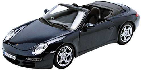 Amazon.com: Maisto 1:18 Scale Porsche 911 Carrera S Cabriolet ...