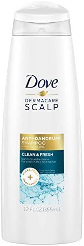 Shampoo & Conditioner: Dove Dermacare Scalp