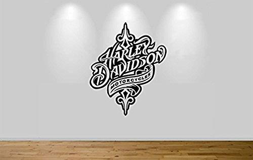 Harley Davidson Motorbike Wall Sticker Decal 1308