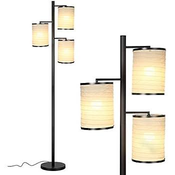 Adesso 4029 01 Bella 74 Quot Floor Lamp Black Nickel Finish Floor Lamps For Bedrooms Amazon Com