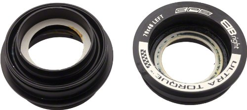 Campagnolo 2014 Ultra Torque Road Bicycle External Bottom Bracket Cups (Right Cups - 51mm - EPS Compatible)