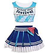 UU-Style LoveLive! Cheerleaders Uniform Suit Outfit Cosplay Costume