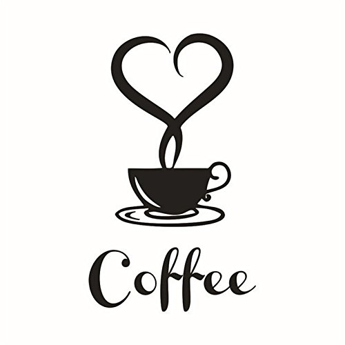 wall decal of a coffee cup - 7