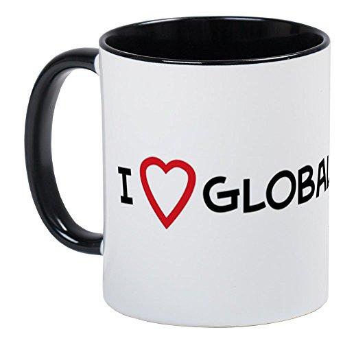 CafePress - I Love Global Warming Mug - Unique Coffee Mug, Coffee Cup