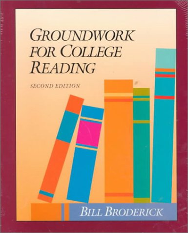 Groundwork for College Reading