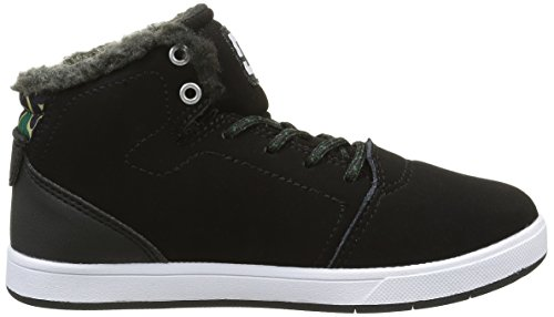 DC Shoes Crisis High Wnt, Zapatillas Altas Para Niños Negro (Black / Camo)