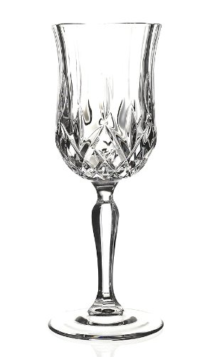 Amazon Com Rcr Opera Crystal Wine Glass Set Of 6 Water Goblets