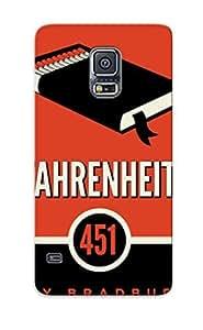 Premium Tpu Fahrenheit 451 Cover Skin Series For Galaxy S5