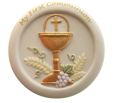 My First Communion Porcelain Keepsake Box - Porcelain Rosary Box