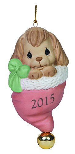 [Precious Moments Happy Howlidays 2015 Dog Ornament] (Wholesale Dog Ornaments)