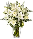 Flowers - With All Our Sympathy Lily Arrangement