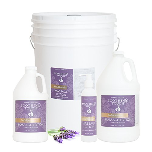 Soothing Touch W67341F Herbal Lavender Lotion, 5 Gallon by Soothing Touch
