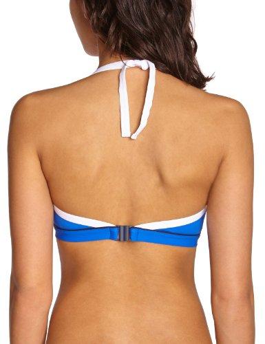 Livia - Parte superior del bikini copa completa para mujer, talla 40, color azul oscuro (night blue) 590