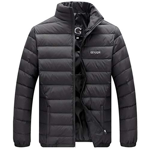 Short Jacket Down Collar Aiweijia Slim Down Men's Jacket qvnH1XR