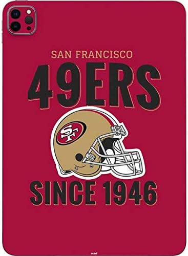 Amazon Com Skinit Decal Tablet Skin Compatible With Ipad Pro 12 9in 2020 Officially Licensed Nfl San Francisco 49ers Helmet Design Electronics