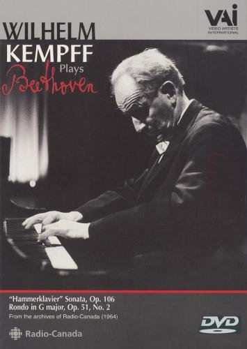 Wilhelm Kempff Plays Beethoven: