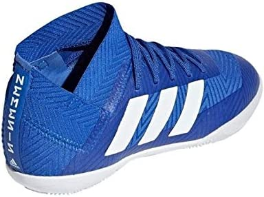 adidas Botas de Fútbol Sala Nemeziz 18.3 Team Mode Suela Lisa Azul ...