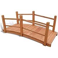 iLifeSmart - Puente de jardín (Madera, 140 x