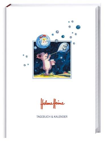 Helme Heine Kalenderbuch A6 2014: 17-Monats Tagebuch und Kalender