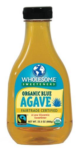 Les édulcorants sains organique Agave bleu, clair, bouteilles 23,5 onces (pack de 6)