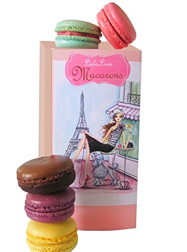 Classic Macarons 6 Flavors -The Memories of Paris Gift Box By Leilalove