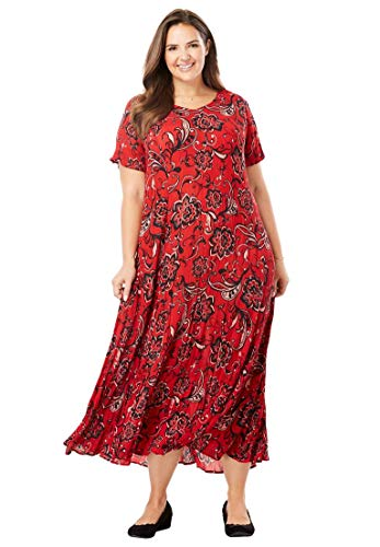 Woman-Within-Plus-Size-Crinkle-Dress