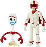 "Disney Pixar Toy Story Forky & Duke Caboom Figures, 4.3"" & 5.9"""