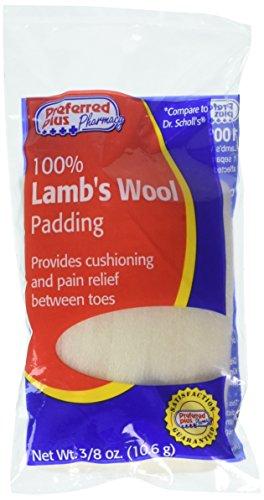 100% Lamb's Wool Padding